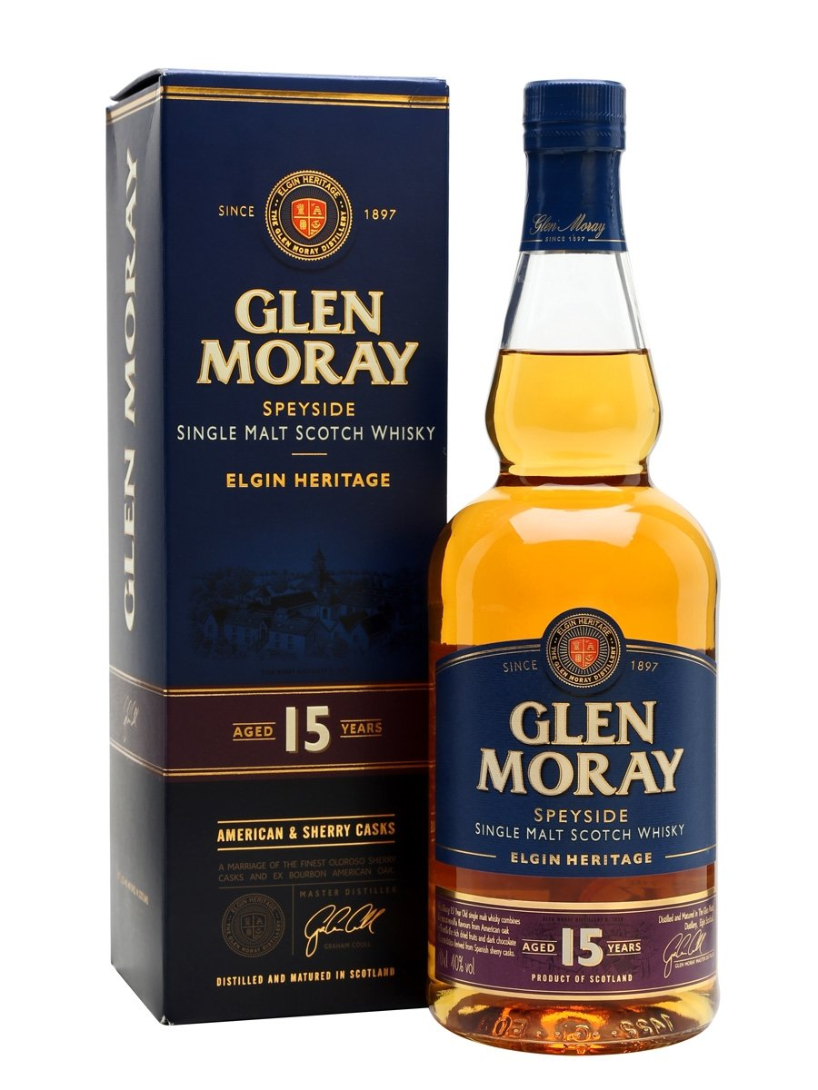 Glen Moray 15Years Cherry Casks