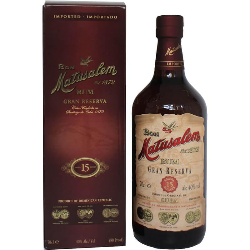 Rum Matusalem Gran Reserva 15y